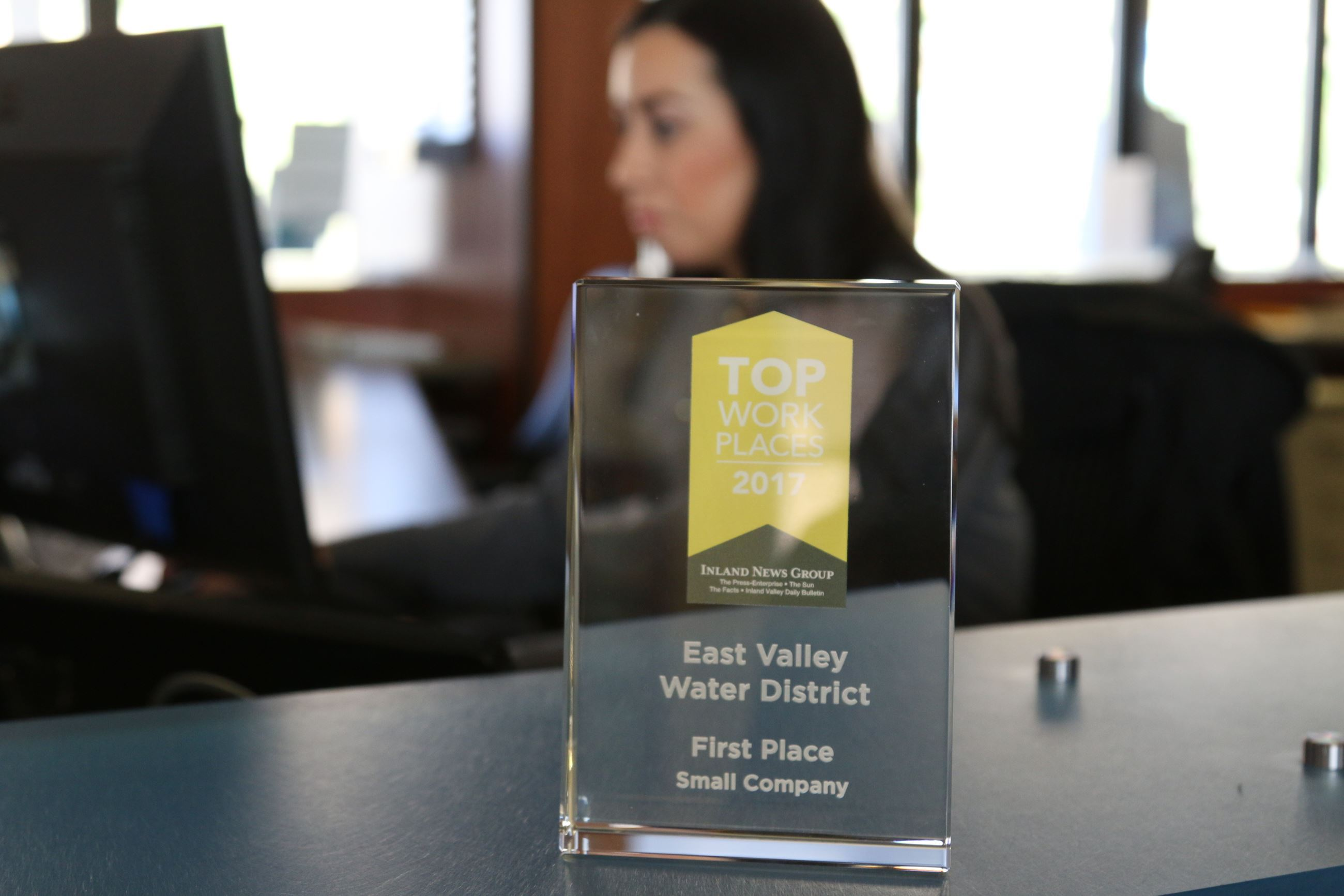 East Valley Water District First Place Small Company Award